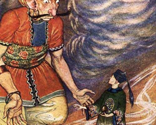 Cum a luat naștere povestea lui Aladin?