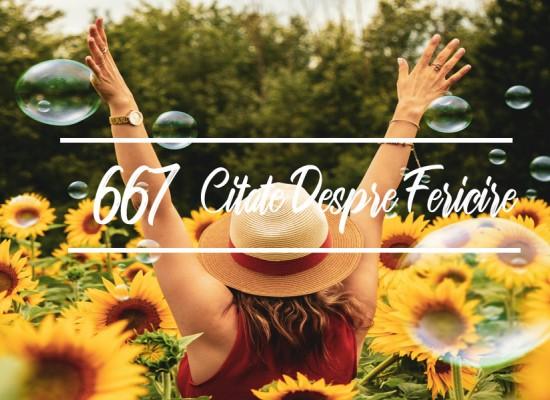 677 Citate despre fericire care sa te inspire zi de zi